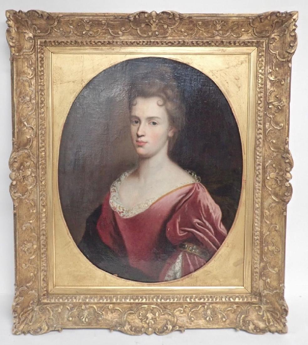 19th Century Framed Portrait of a Woman - 2