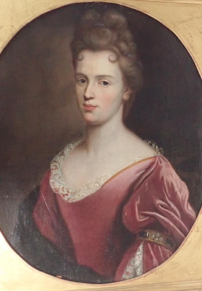 19th Century Framed Portrait of a Woman - 3