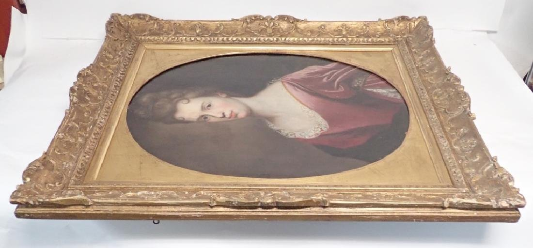 19th Century Framed Portrait of a Woman - 4