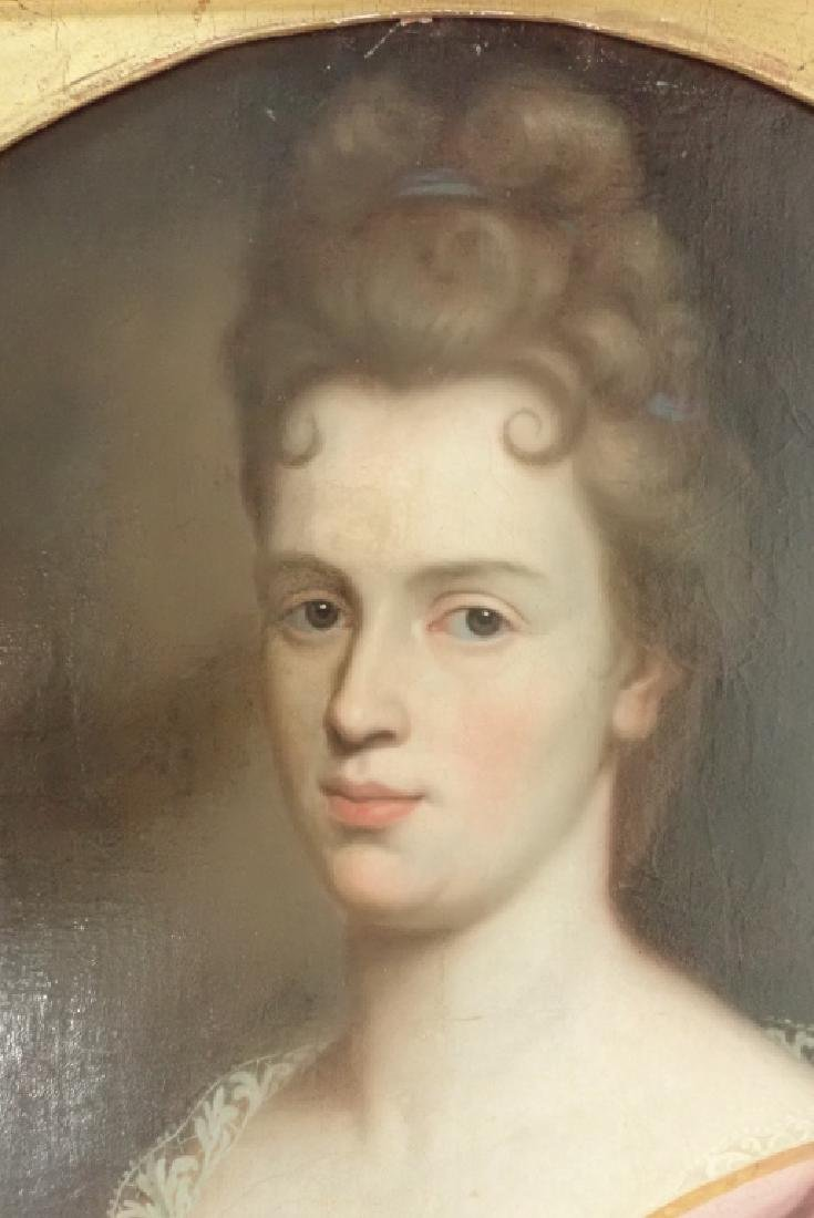 19th Century Framed Portrait of a Woman - 6
