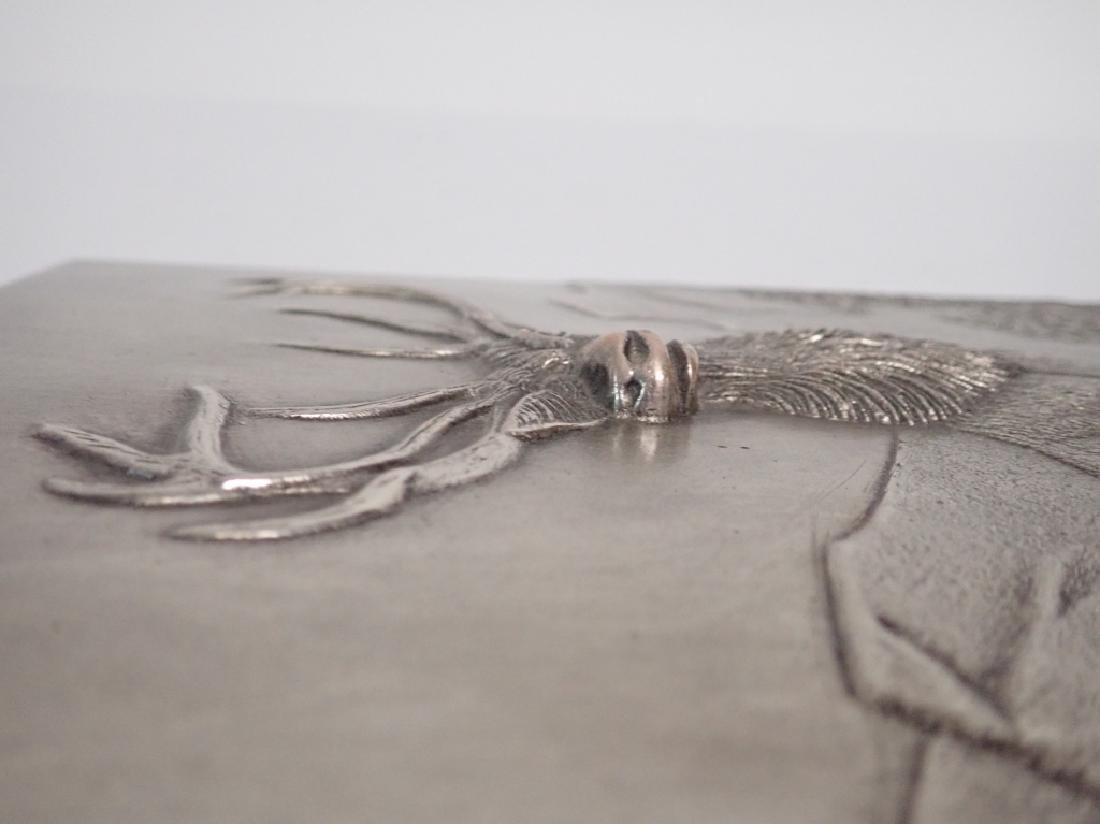 19th Century Silver Over Bronze Plaque - 7