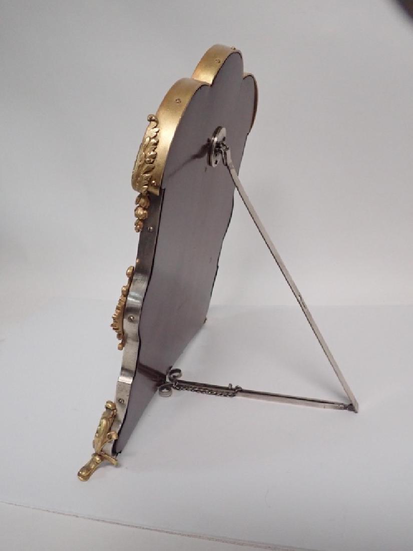 Silver and Gilt Mirror, American circa 1880 - 5
