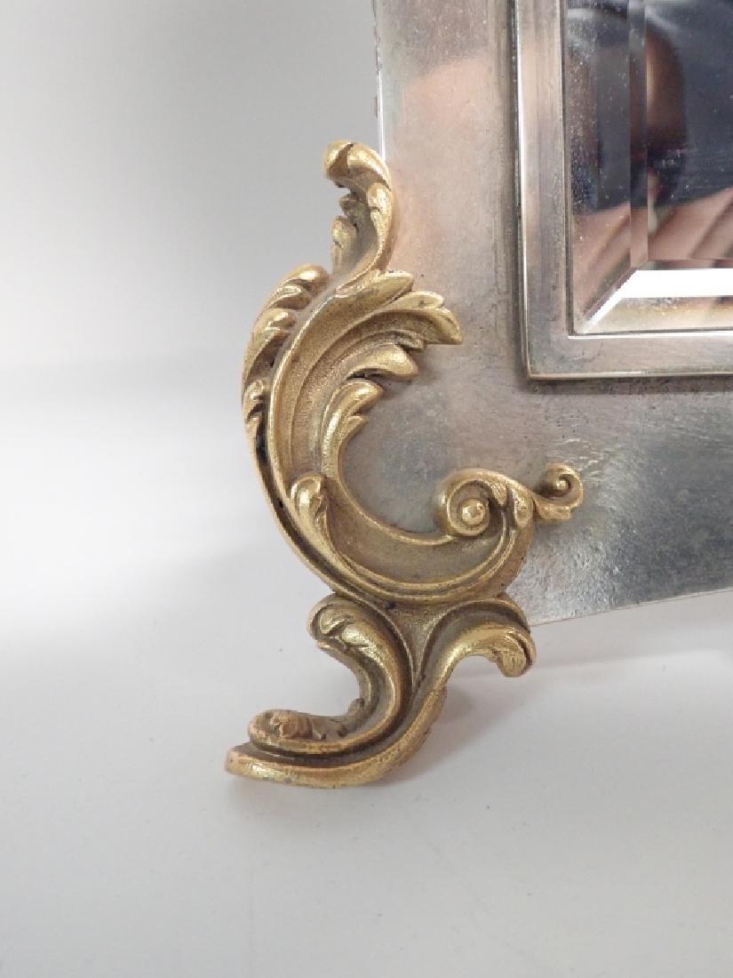 Silver and Gilt Mirror, American circa 1880 - 6