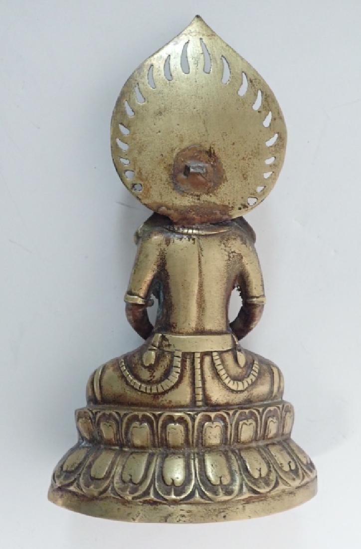 Chinese Bronze Buddha - 7