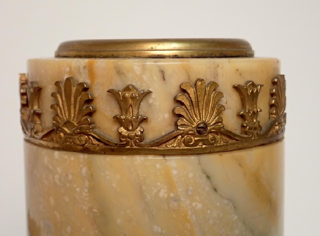 Antique Austrian Bronze Mounted Marble Vases - 8