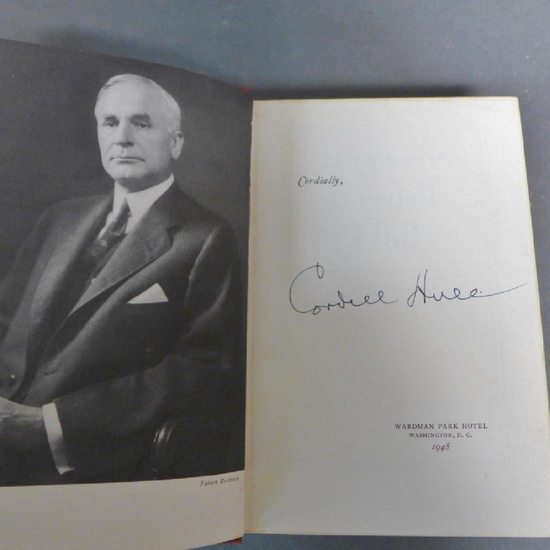 """The Memoirs of Cordell Hull,"" Signed 1st Edition - 2"