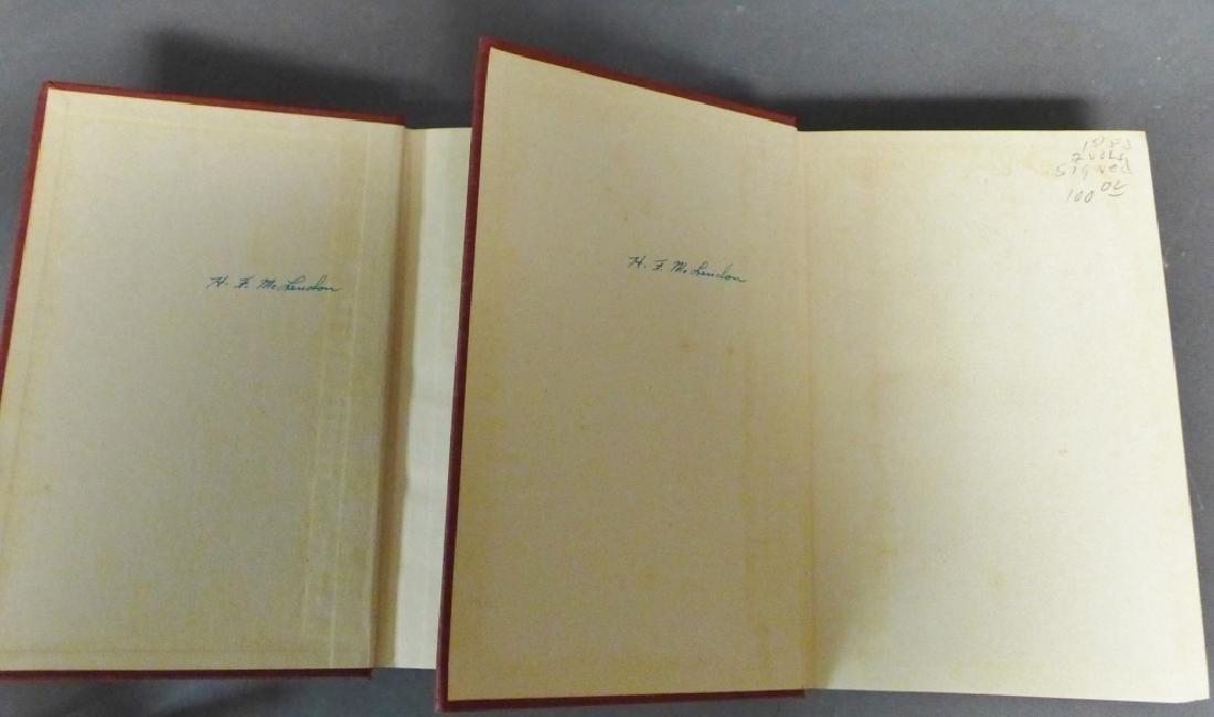 """The Memoirs of Cordell Hull,"" Signed 1st Edition - 3"