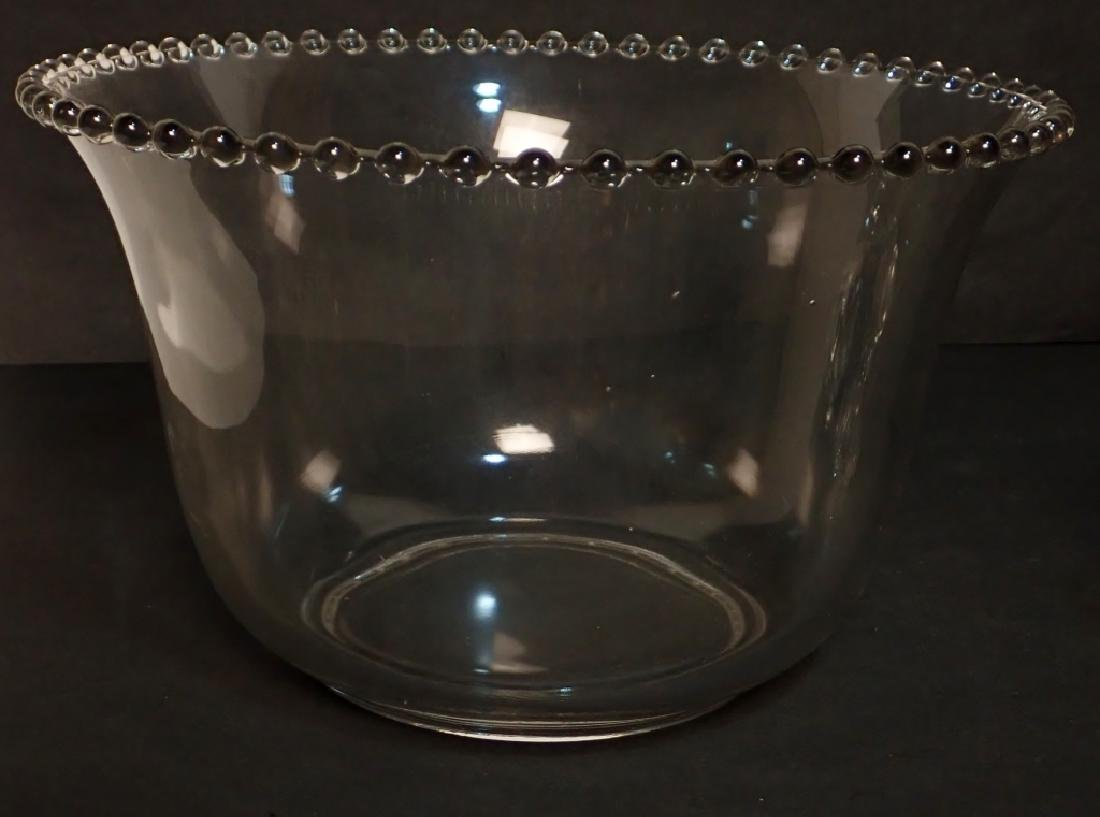 Assortment of Bubble Glass Serving Ware - 6