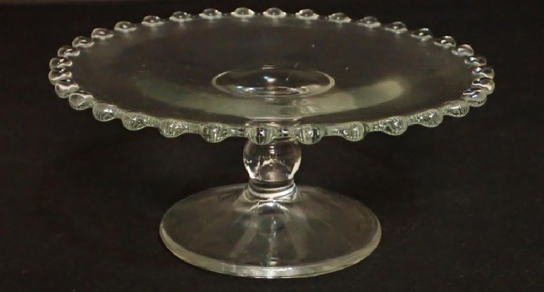 Assortment of Bubble Glass Serving Ware - 8