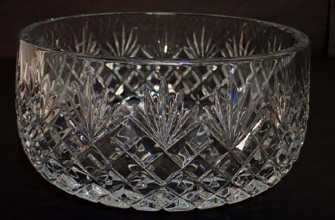 Galway Crystal Bowl with Clifden Cut Design