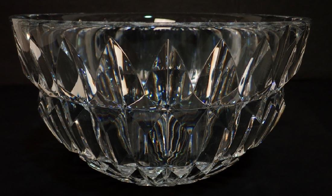 Pair of Two Signed Cut Crystal Bowls - 6