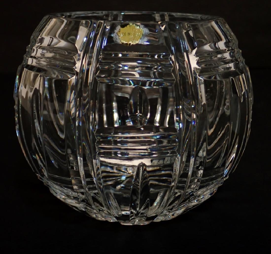Pair of Cut Crystal Vases - 2
