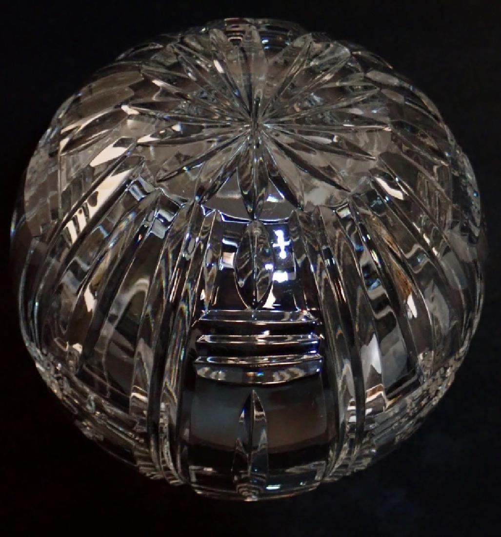Pair of Cut Crystal Vases - 4