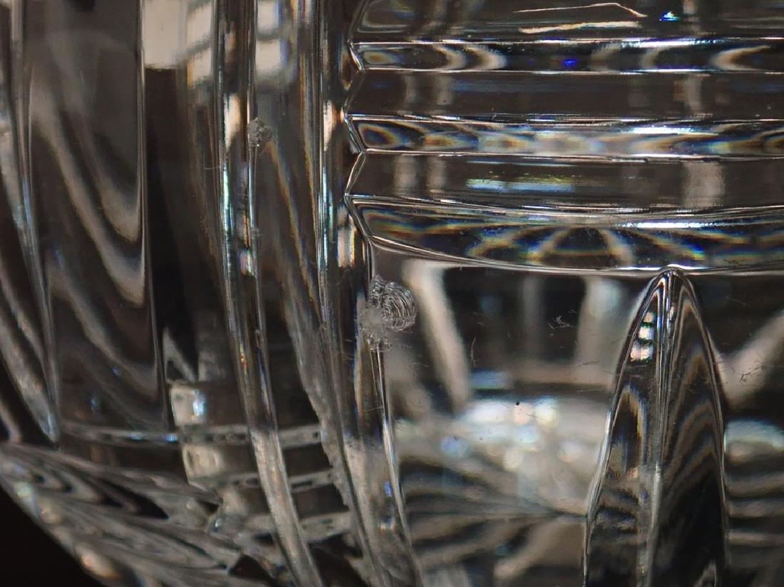 Pair of Cut Crystal Vases - 6
