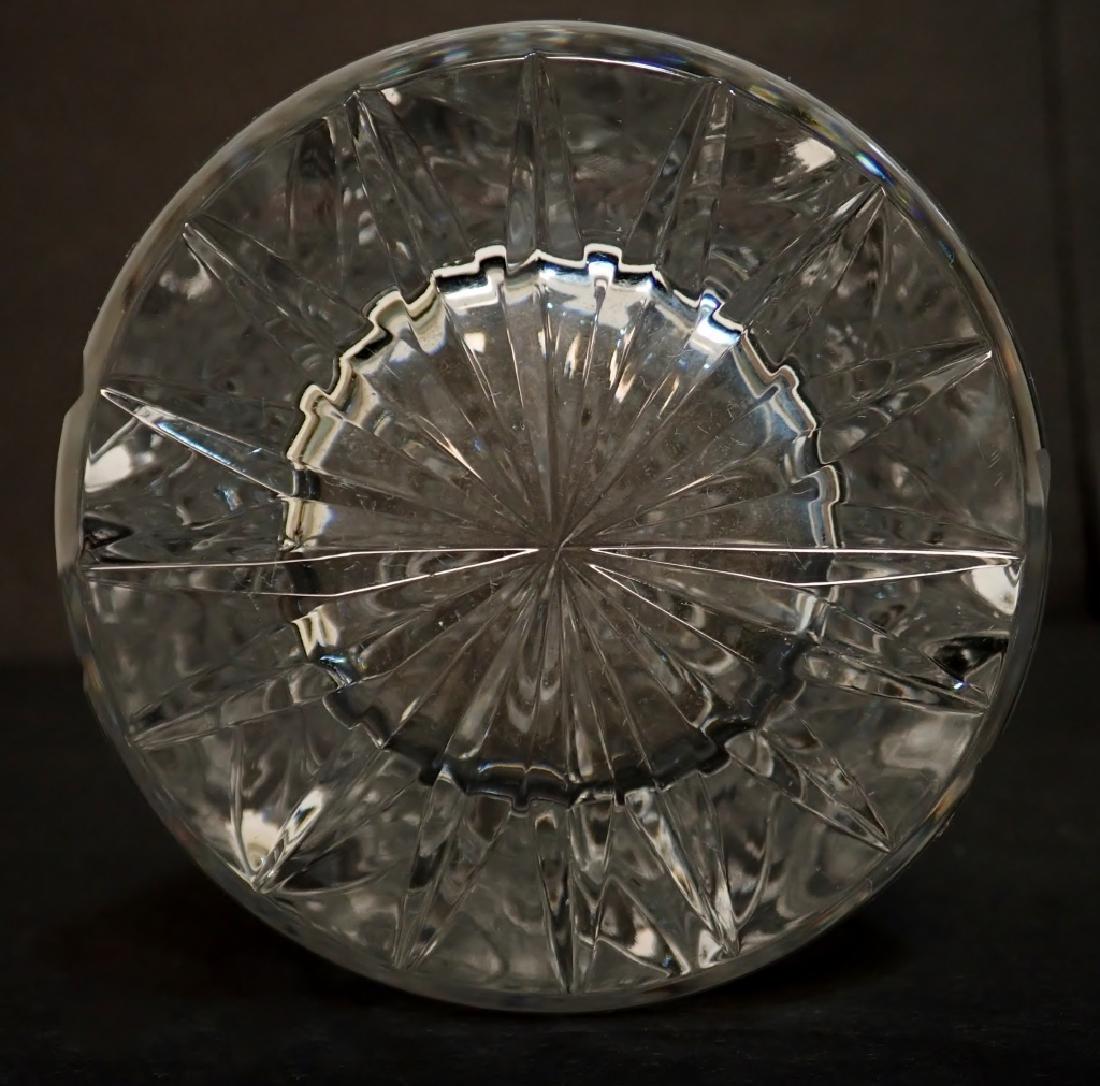 Pair of Cut Crystal Vases - 8