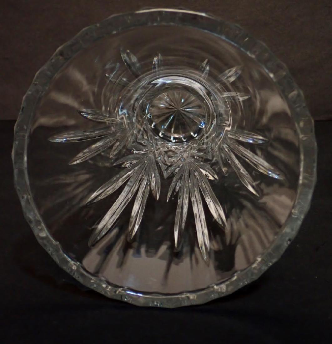 Pair of Cut Crystal Vases - 9
