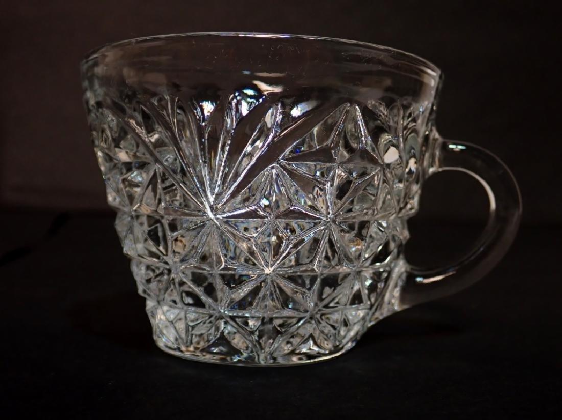 Cut Crystal/Glass Tea Set with Tray - 3
