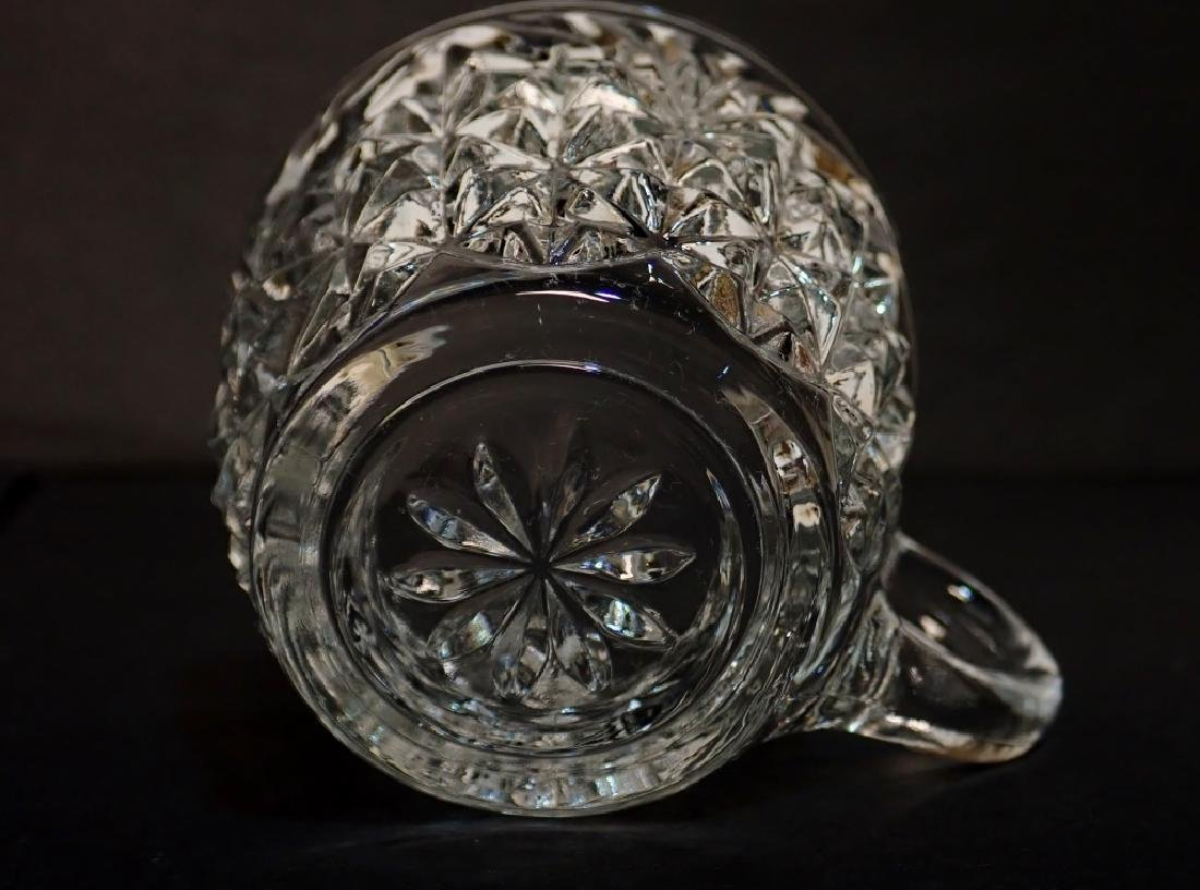 Cut Crystal/Glass Tea Set with Tray - 4