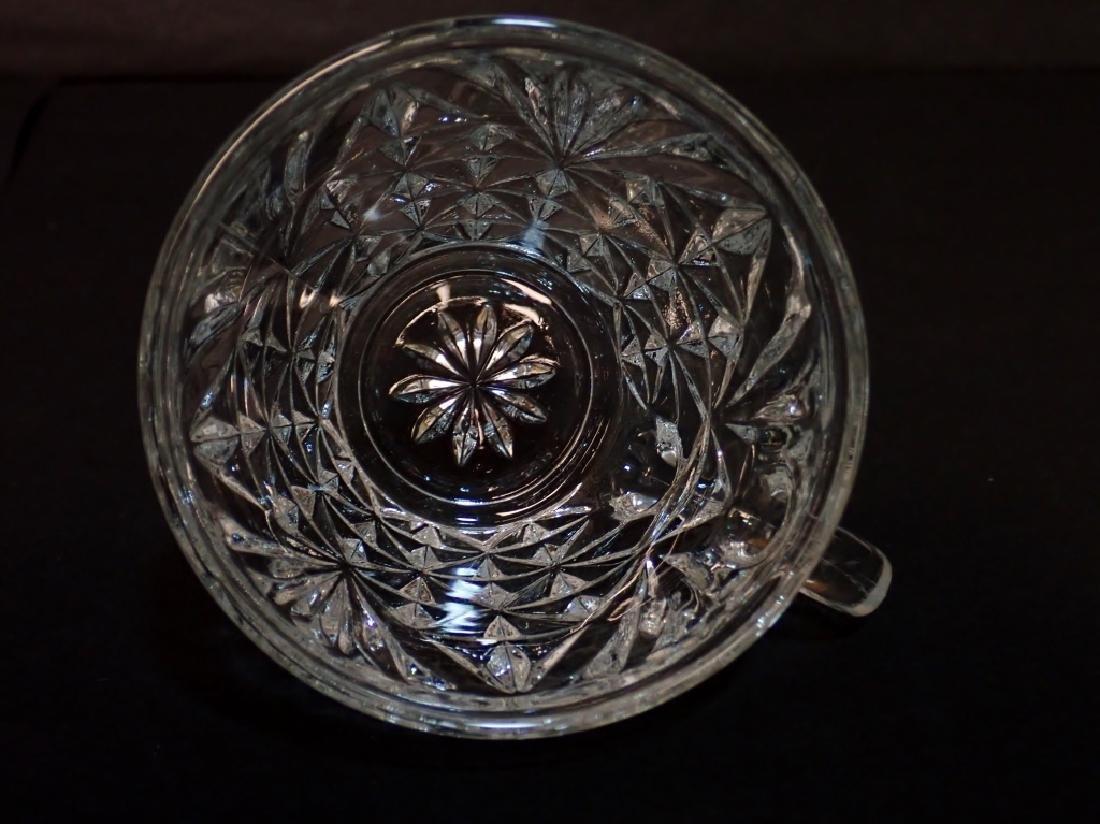 Cut Crystal/Glass Tea Set with Tray - 5
