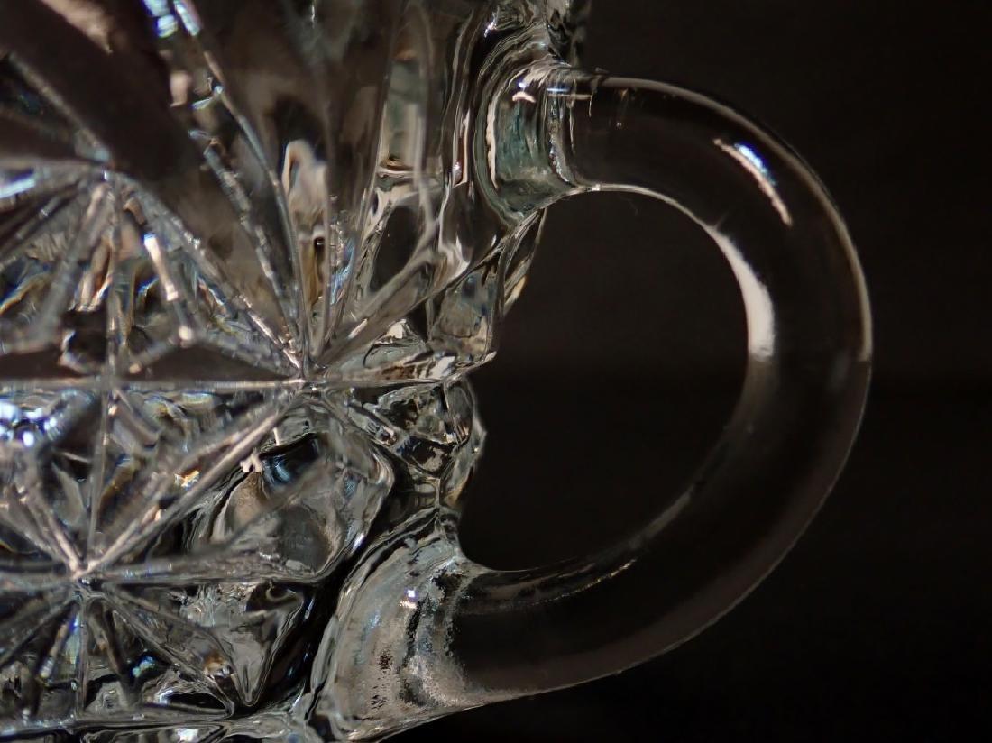 Cut Crystal/Glass Tea Set with Tray - 6