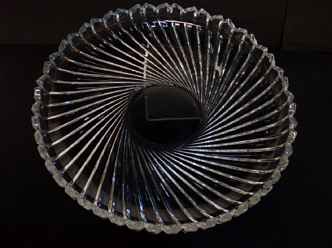 Cut Crystal/Glass Tea Set with Tray - 7