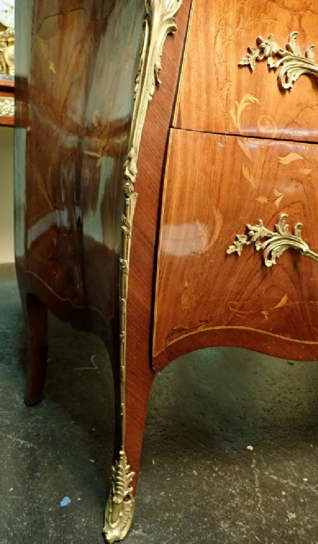Louis XV Style Commode with Marble Top - 3