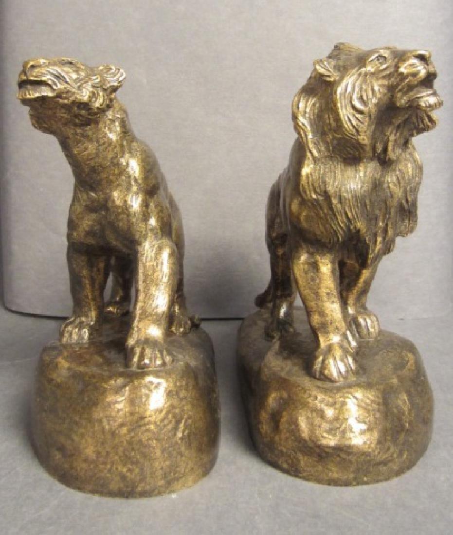 Antoine Bofill (1875-1921) Bronze Lions - 2