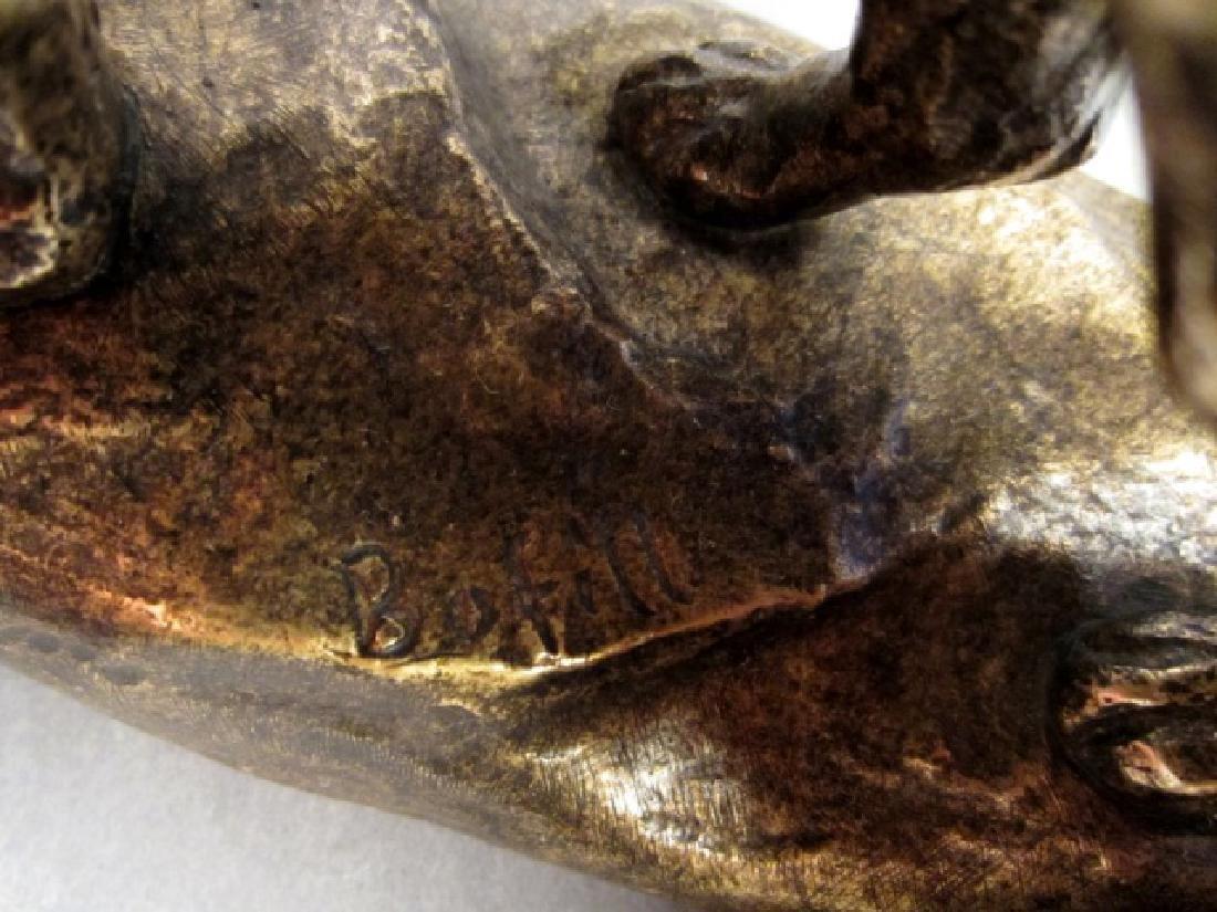 Antoine Bofill (1875-1921) Bronze Lions - 6