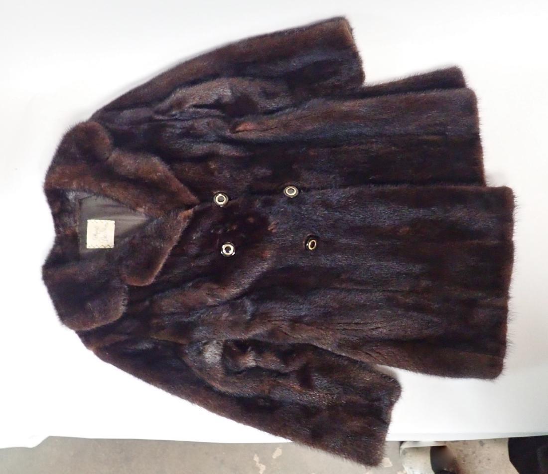 Vintage Macy's Little Shop Fur Coat