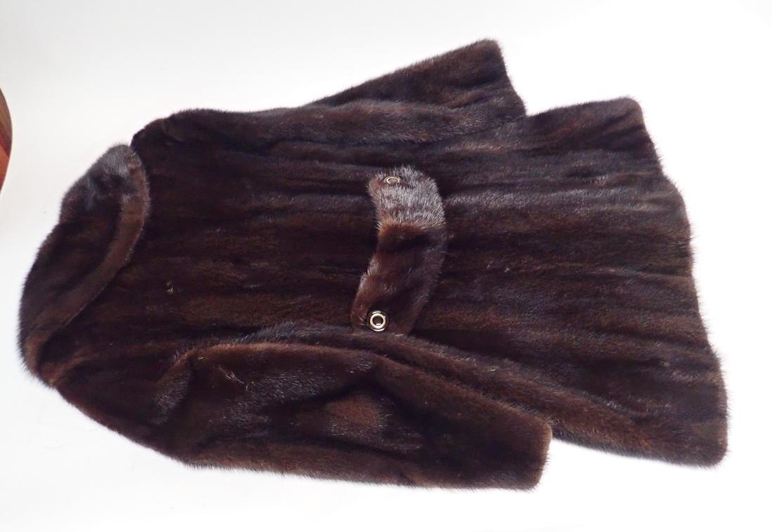 Vintage Macy's Little Shop Fur Coat - 3