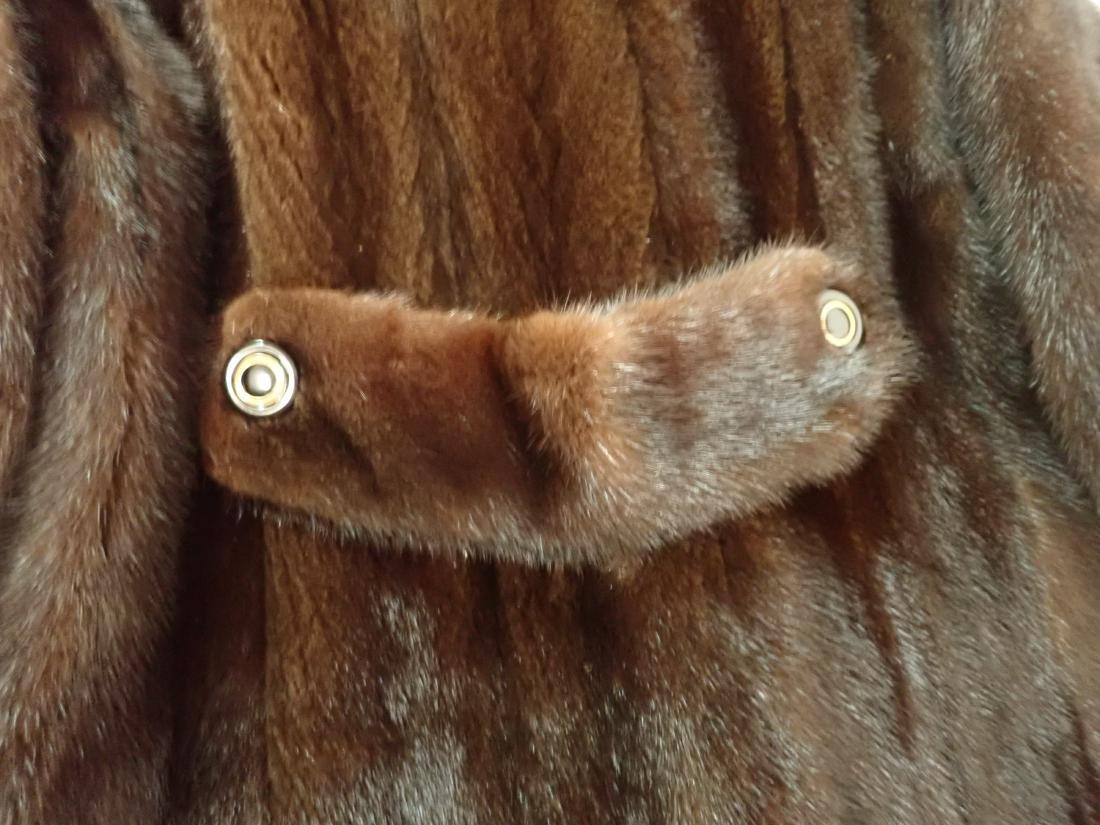 Vintage Macy's Little Shop Fur Coat - 4