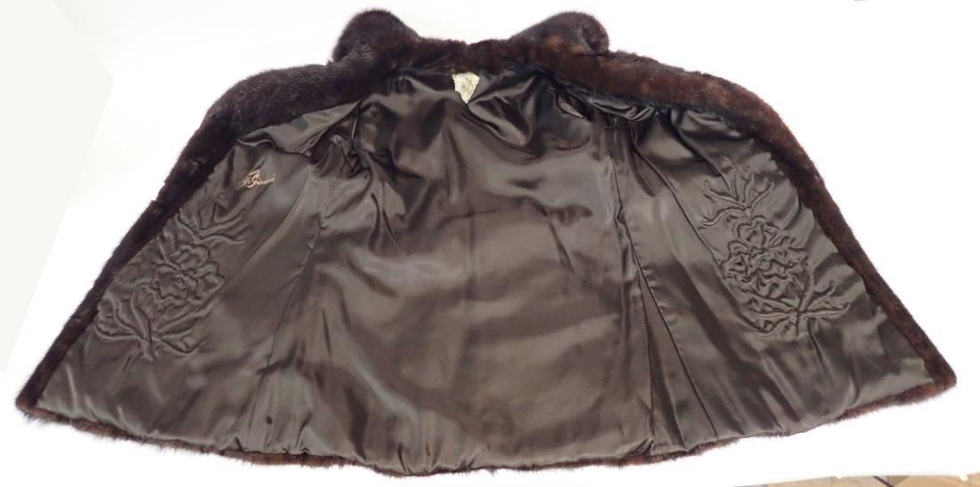 Vintage Macy's Little Shop Fur Coat - 5