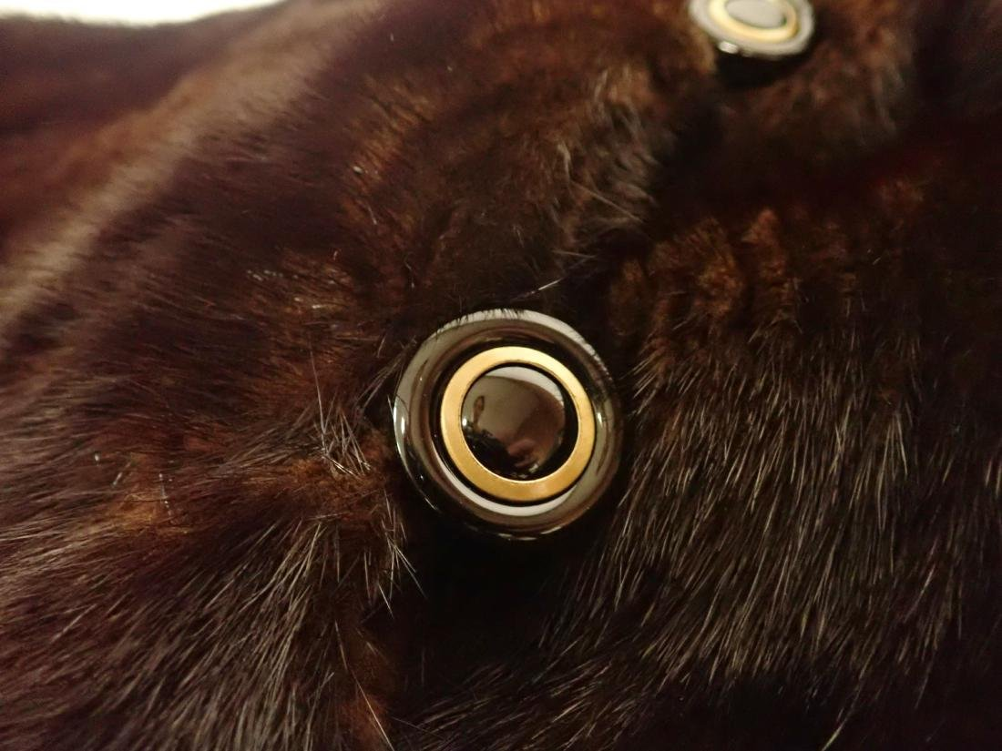 Vintage Macy's Little Shop Fur Coat - 8
