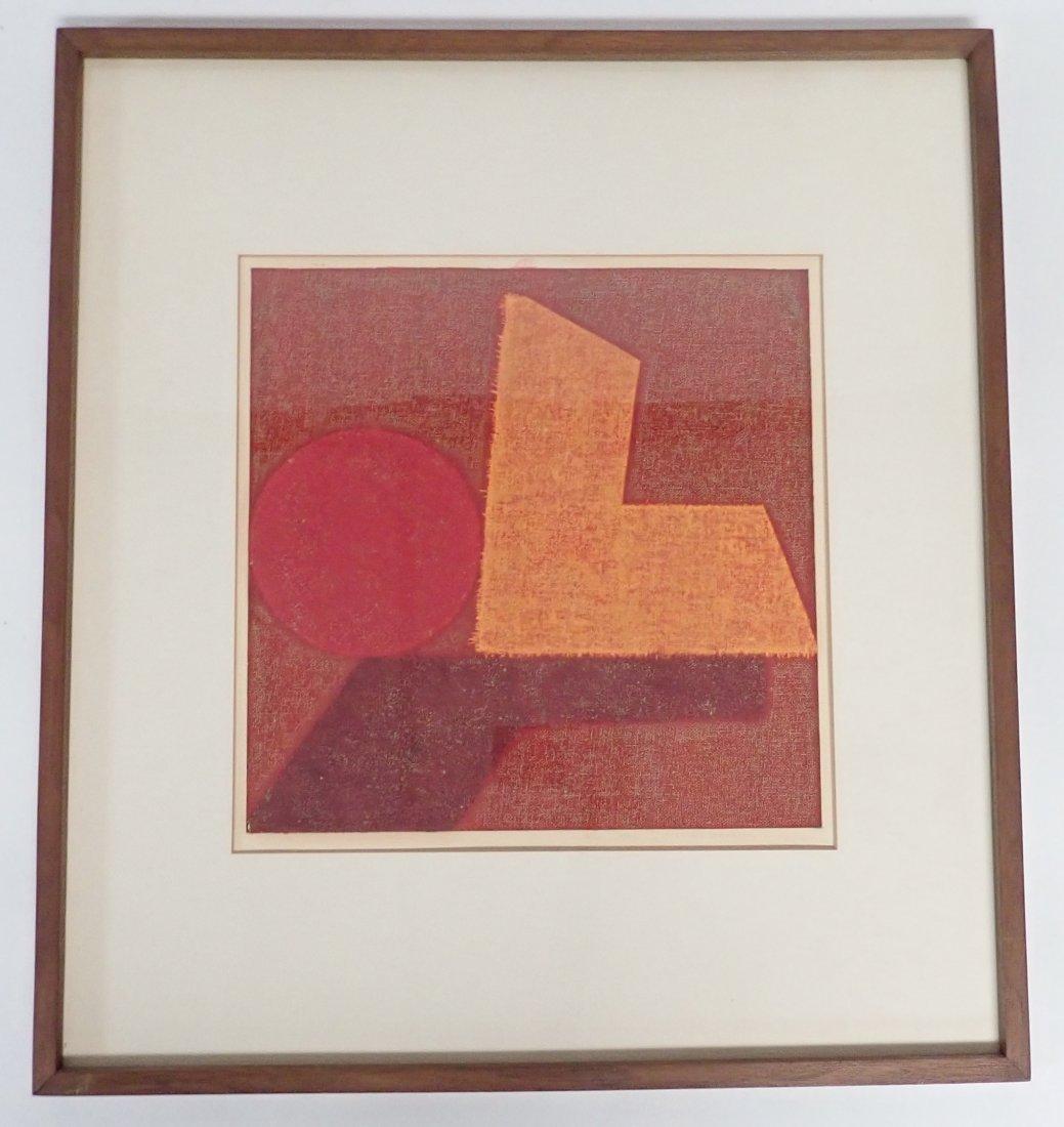 Natvar Bhavsar  (born 1934), Numbered Lithograph