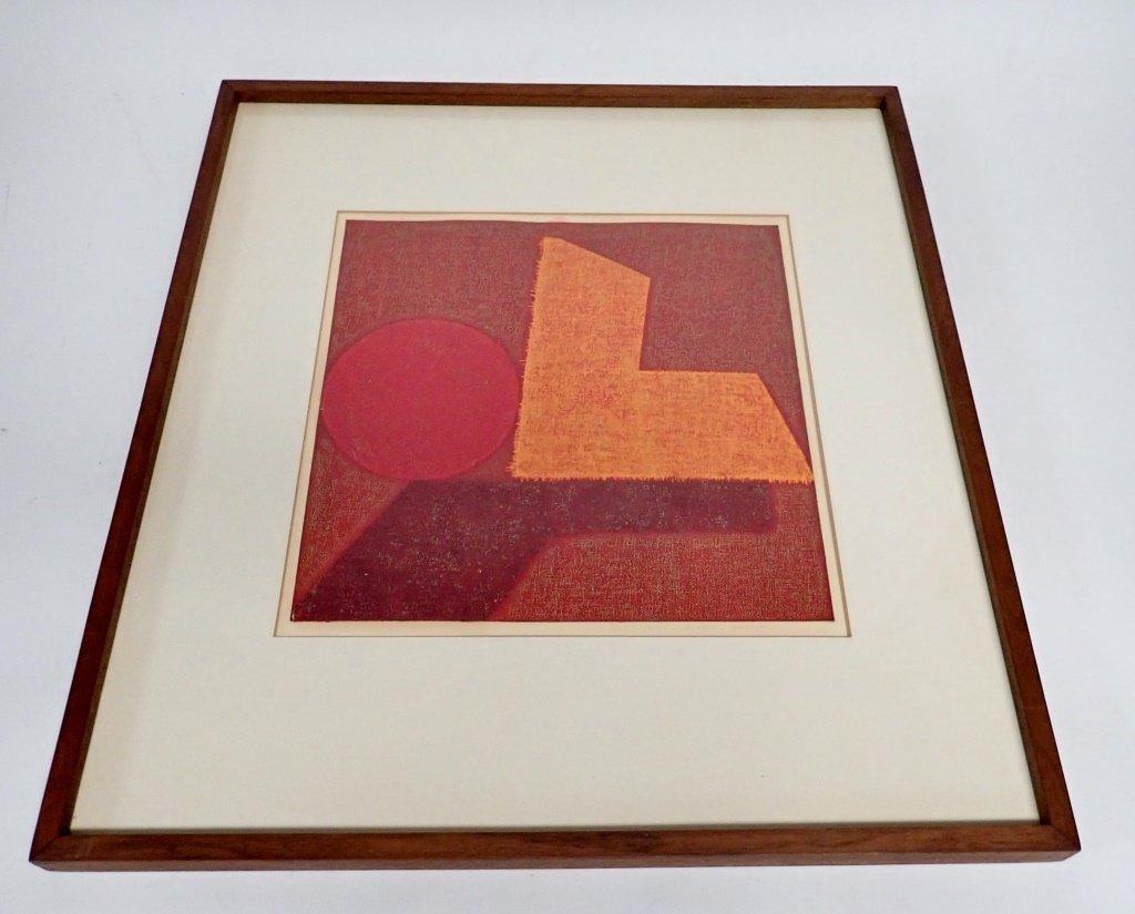 Natvar Bhavsar  (born 1934), Numbered Lithograph - 2