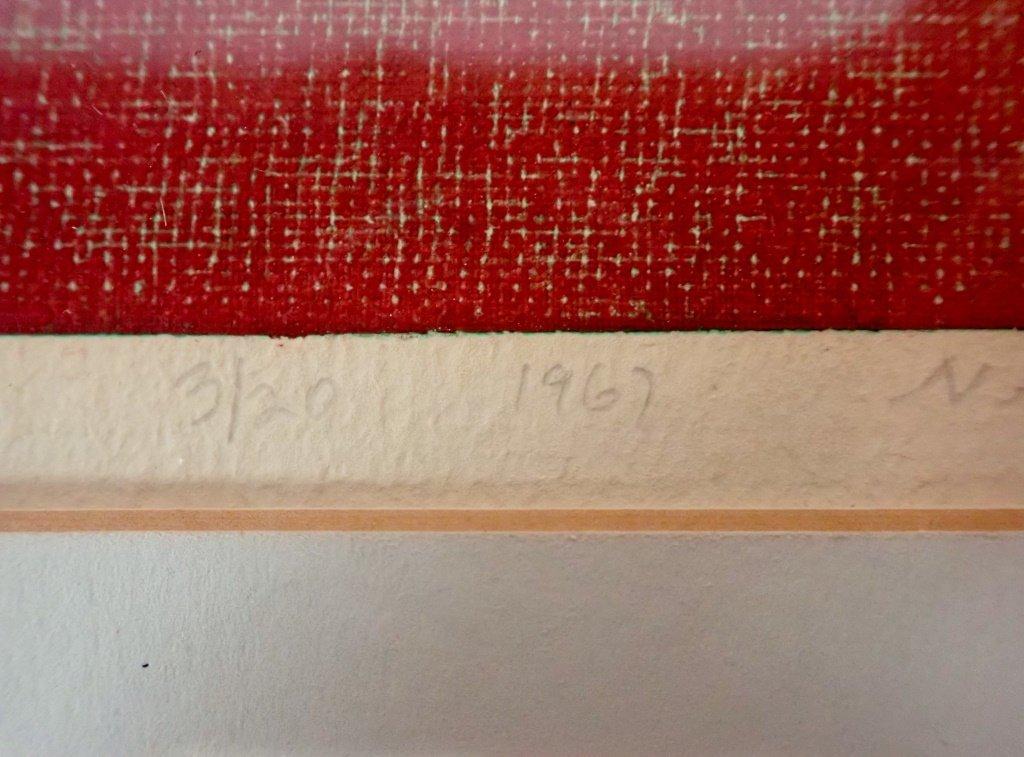 Natvar Bhavsar  (born 1934), Numbered Lithograph - 4