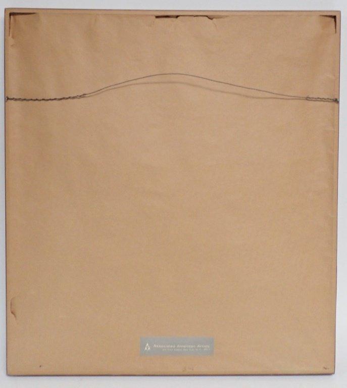 Natvar Bhavsar  (born 1934), Numbered Lithograph - 6
