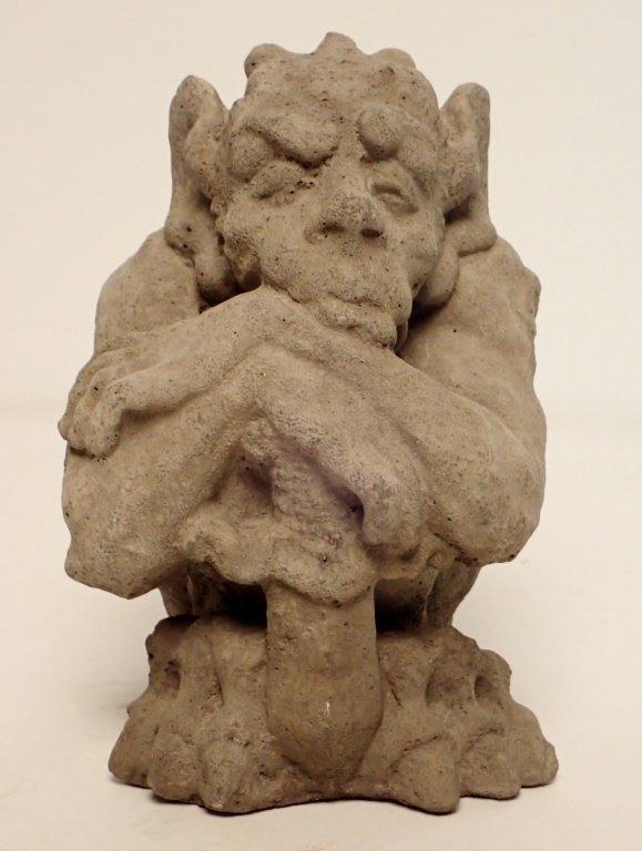 Sandstone Dragon Statue
