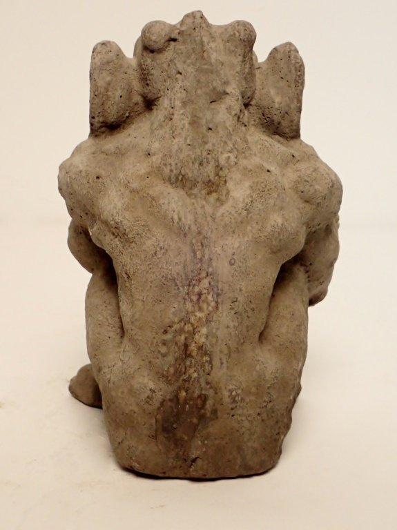 Sandstone Dragon Statue - 3