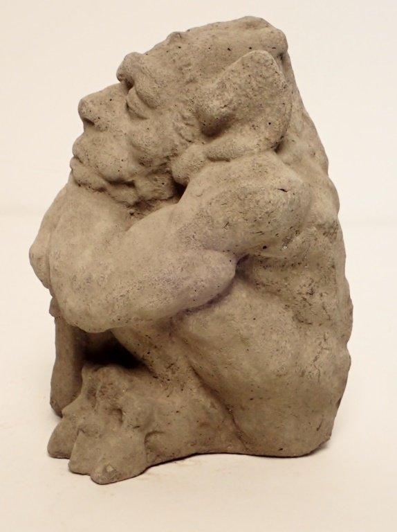 Sandstone Dragon Statue - 4