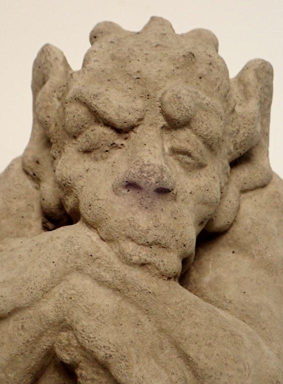 Sandstone Dragon Statue - 5