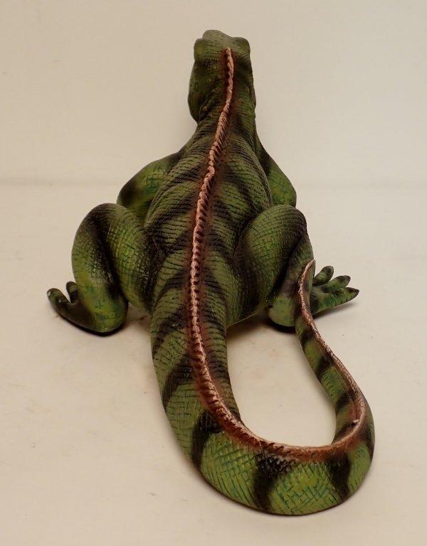 Outdoor Iguana Garden Statue - 3