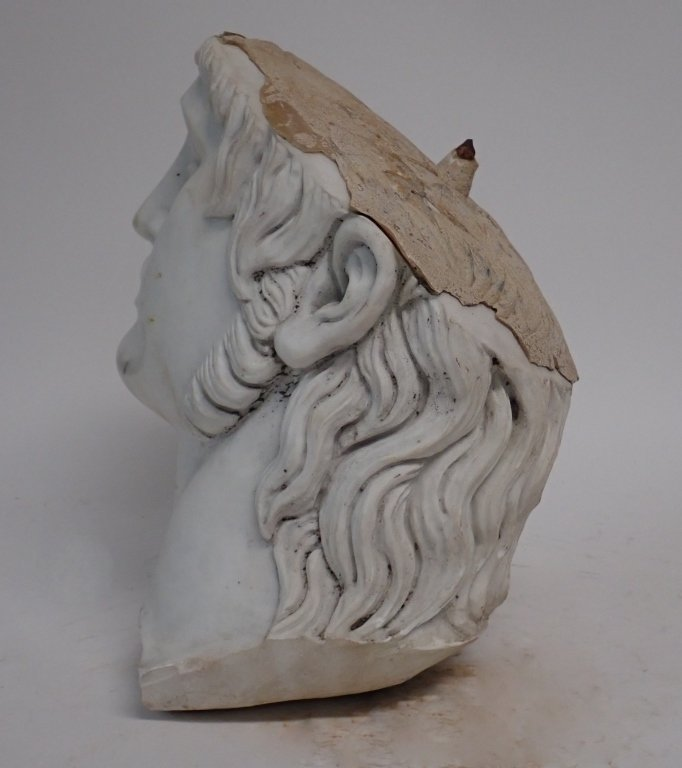 Marble Head Sculpture - 3