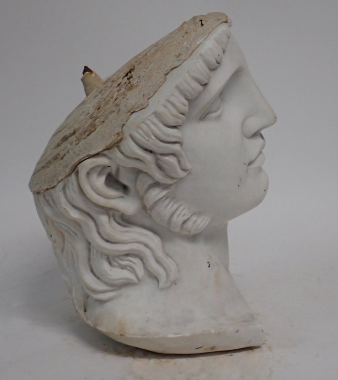 Marble Head Sculpture - 5