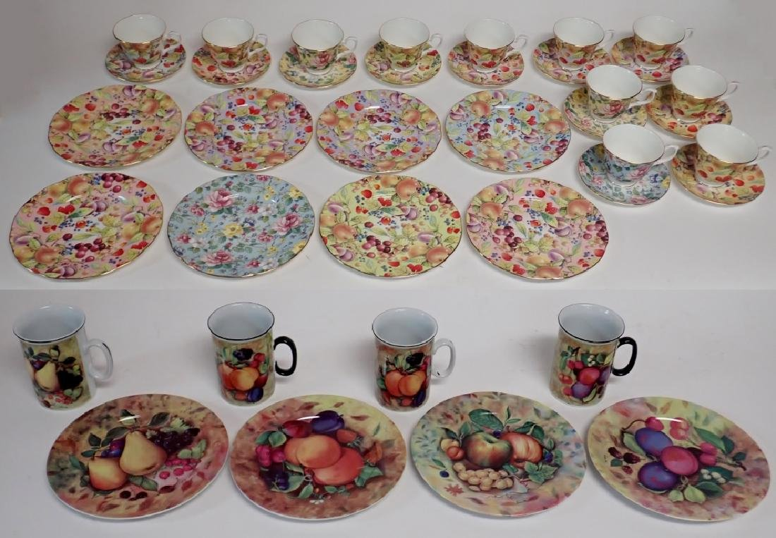 Group of Bone China Serving Ware