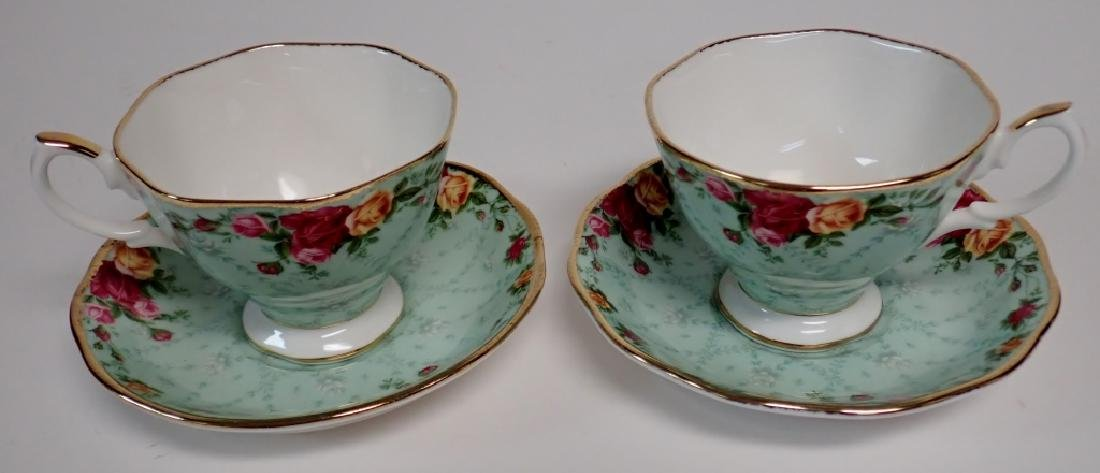 Group of Bone China Tea Cups and Saucers - 3