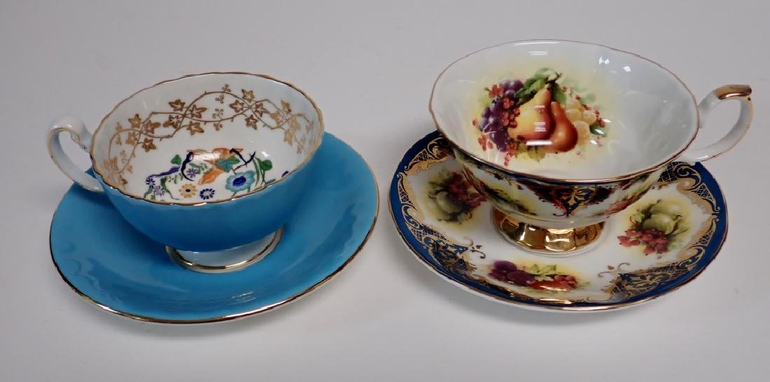 Group of Bone China Tea Cups and Saucers - 5