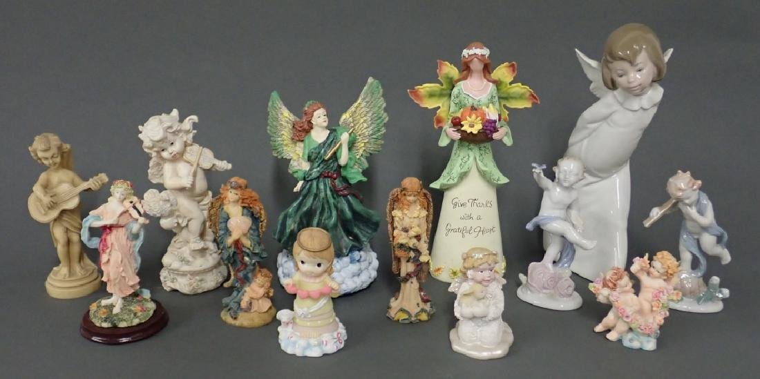 Grouping of Putti/Angel Figurines