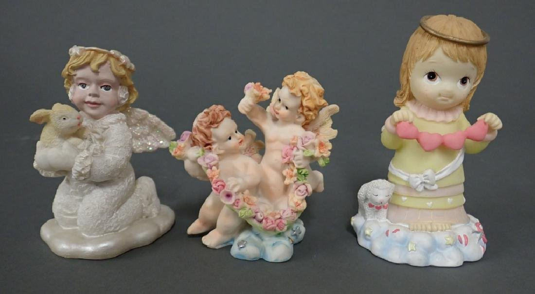 Grouping of Putti/Angel Figurines - 2