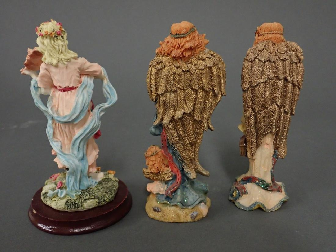 Grouping of Putti/Angel Figurines - 5